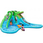 Happy Hop Velký vodní aqua park Krokodýl s velkým bazénem