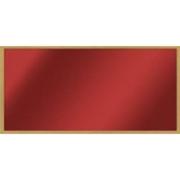 Skleněný topný panel (infratopení)  200 W, rám dub